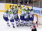 MŚ w hokeju: Słowenia - Austria 2:1, Polacy nie zagrają w elicie
