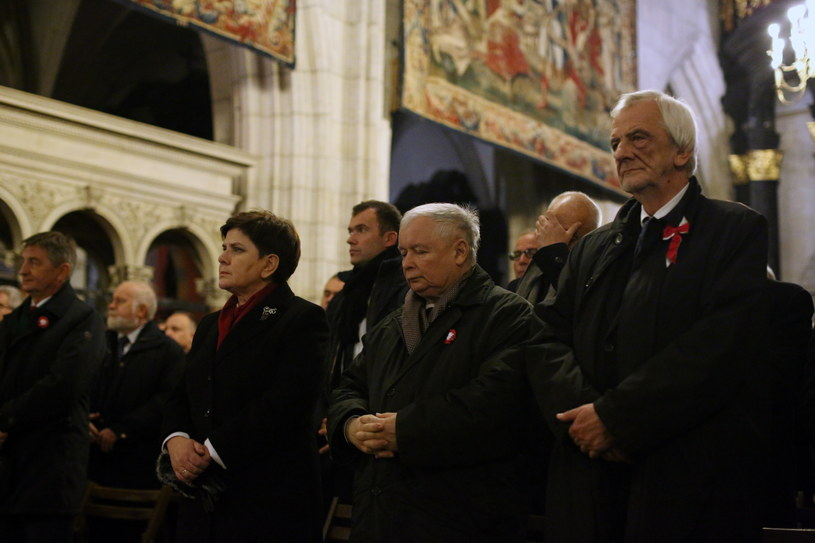 Msza na Wawelu /Stanisław Rozpędzik /PAP