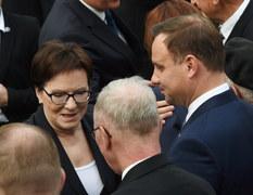 Msza św. przed pomnikiem Powstania Warszawskiego