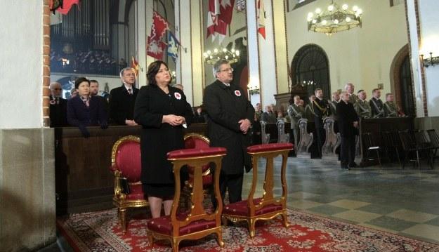 Msza św. w intencji ojczyzny w archikatedrze św. Jana w Warszawie, fot. L. Szymański /PAP