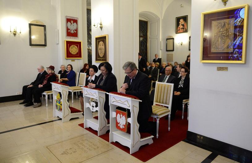 Msza w Pałacu Prezydenckim /Jacek Turczyk /PAP