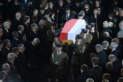 Msza żałobna podczas pogrzebu Tadeusza Mazowieckiego