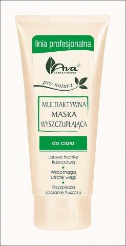 Multiaktywna maska wyszczuplająca, Ava, linia profesjonalna, 200 ml/28 zł. /Mat. Prasowe
