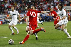 Mundial 2010: Słowenia - Anglia
