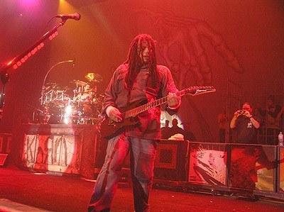 Munky (Korn) popisał się znakomitym solem gitarowym /INTERIA.PL