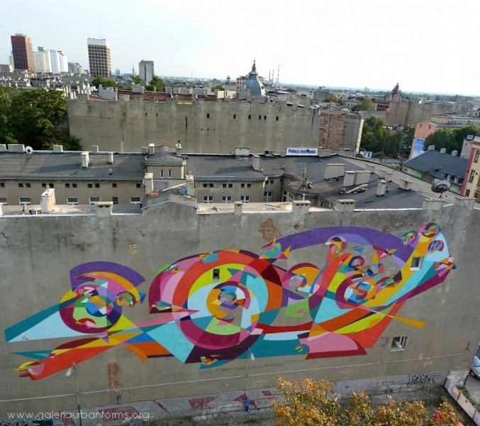 Mural Kenora przy al. Kościuszki 32 /Urban Forms