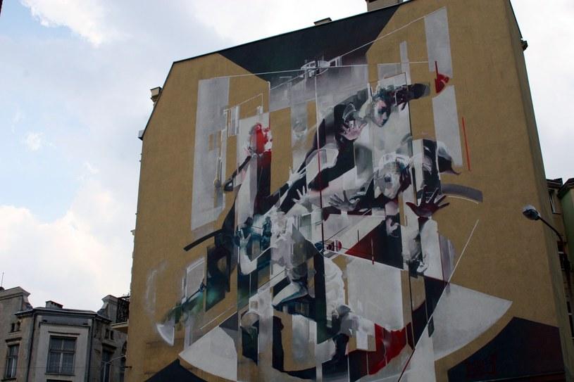 Mural przy ul. Legionów %& (autor: TONE) /Ewelina Karpińska-Morek /INTERIA.PL