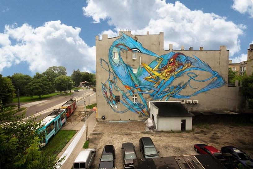 Mural Shidy przy ul. Wojska Polskiego 82 /Urban Forms
