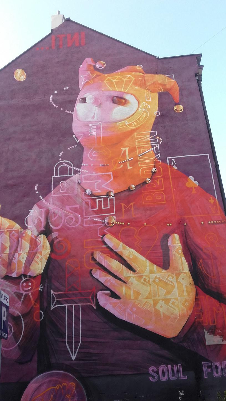 "Mural ""The Sun"" /Styl.pl"