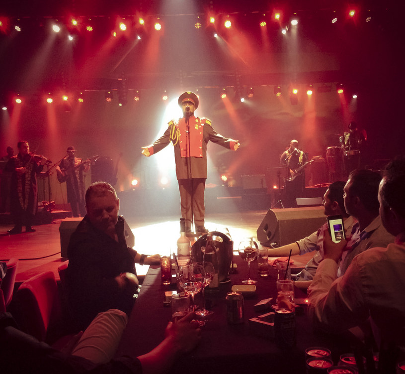 MusicHall na słynnej wyspie Palm Jumeirah, fot Celia Peterson /The New York Times Syndicate