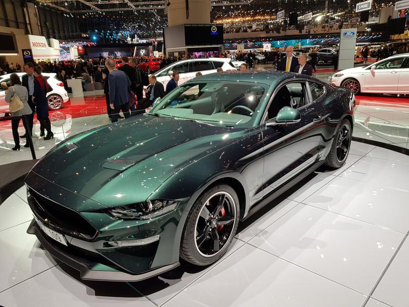 """Mustang Bullitt - to akurat rzeczywiście """"ikona w nowym wydaniu"""" /INTERIA.PL"""
