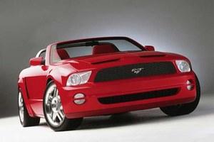 Mustang w stylu retro
