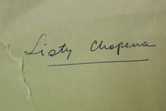 Muzeum Fryderyka Chopina otrzymało cenną kolekcję dokumentów