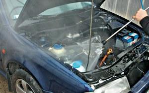 Mycie komory silnika /Motor