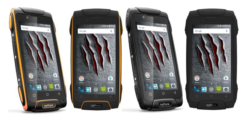 myPhone Hammer AXE M LTE /materiały prasowe