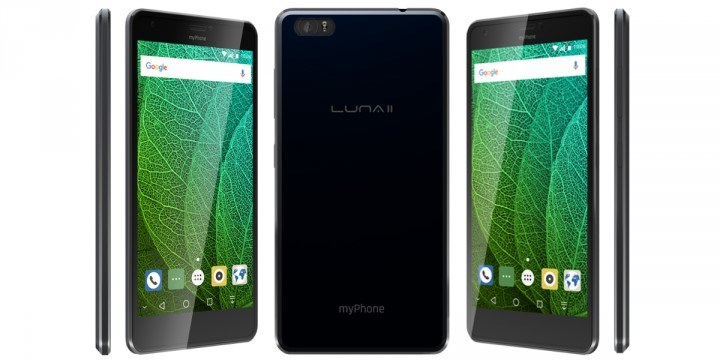 myPhone Luna II /materiały prasowe