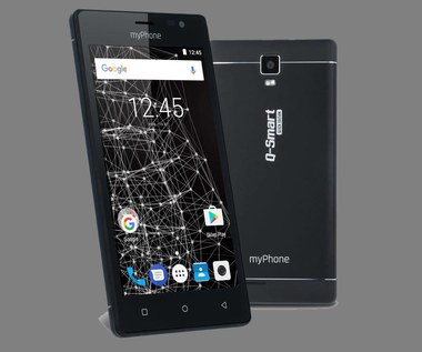 myPhone Q-Smart Black Edition i FLIP 3 w Biedronce
