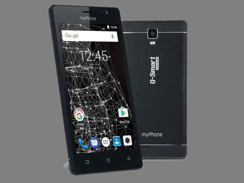 myPhone Q-Smart Black Edition /materiały prasowe