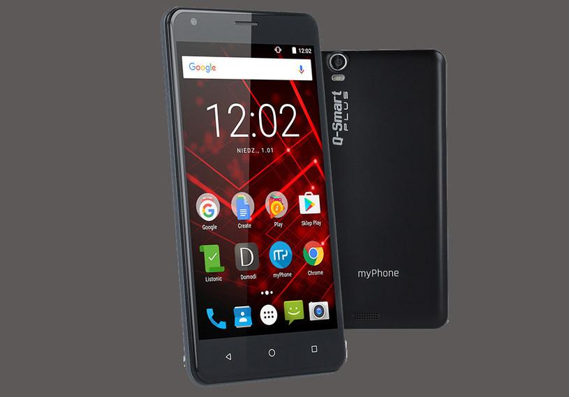 myPhone Q-Smart Plus /materiały prasowe