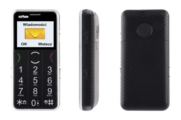 myPhone wprowadza na rynek kolejny telefon dla seniora /materiały prasowe