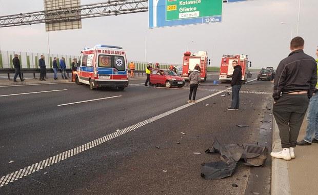 Na A1 zderzyły się cztery samochody