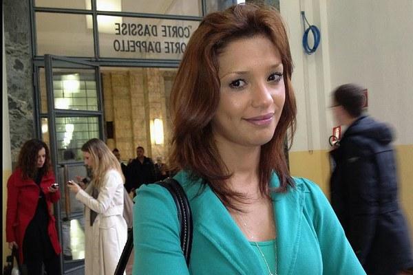 Modelka Imane Fadil w sądzie w Mediolanie