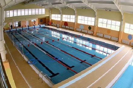 Na basenie trwają jeszcze ostatnie prace /krosno24.pl