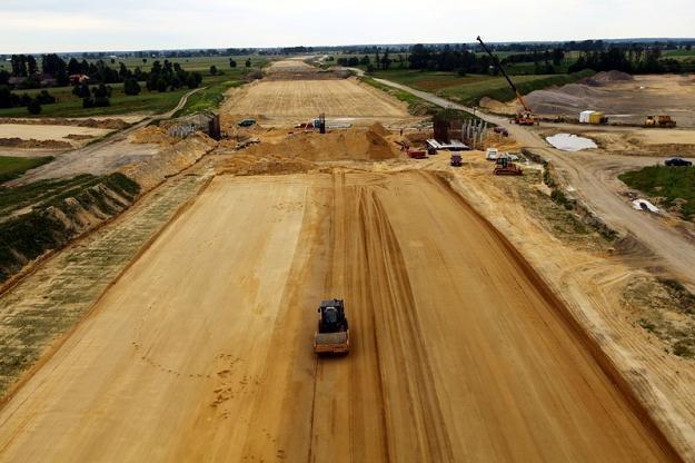 Na budowie autostrad pojawia się coraz więcej problemów / Fot: Krystian Trela /Reporter
