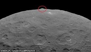 Na Ceres odnaleziono tajemniczą piramidę?