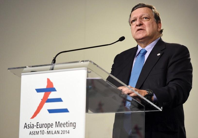 Na Dominika miał naciskać szef Komisji Europejskiej, Jose Manuel Barosso /AFP