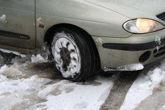 Na drogach panują trudne warunki do jazdy /INTERIA.PL