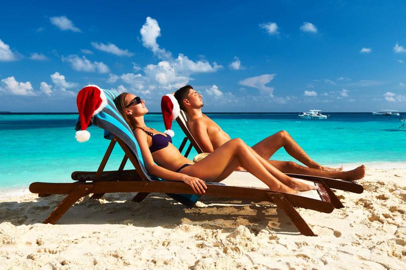 Na egzotycznej plaży można zapomnieć o grudniowej aurze... /©123RF/PICSEL