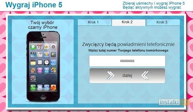 "Na Facebooku kolejny raz można ""wygrać"" iPhone'a /instalki.pl"