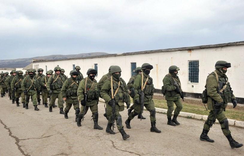Na Krymie rośnie napięcie /AFP
