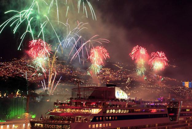 Na Maderze odbywa się jeden z największych na świecie pokazów sztucznych ogni /AFP