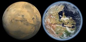 Na Marsie istniał ocean!