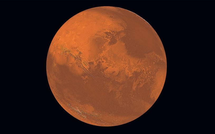 Na Marsie wykryto tlen atomowy - czy kiedyś istniał tam tlen cząsteczkowy? /123RF/PICSEL