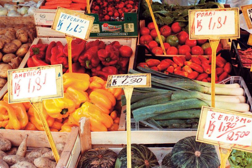 Na Mercato Centrale we Florencji można kupić doskonałe warzywa, owoce, sery, świeże ryby i mięso  /Twój Styl