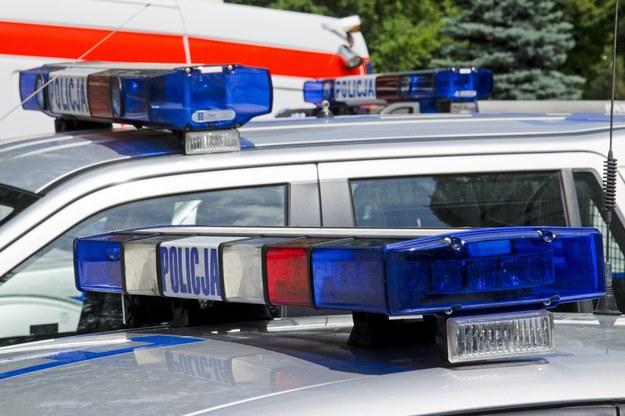 Na miejscu zdarzenia pracuje policja /Przemysław Ziemacki /East News
