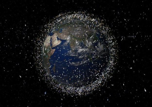 Na orbicie okołoziemskiej jest aż tyle satelitów do przechwycenia /NASA