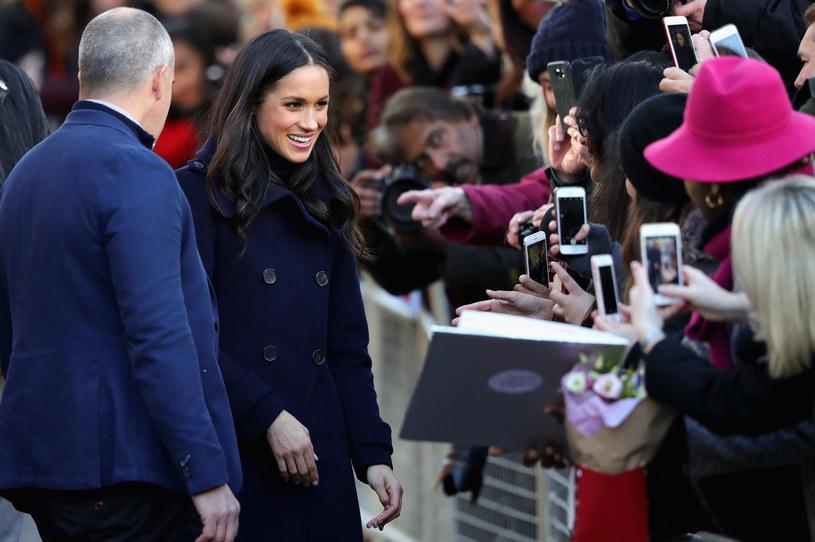 Na parę oczekiwały tłumy /Getty Images