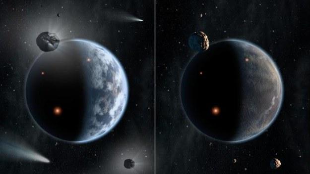 Na planetach bogatych w węgiel (także tzw. diamentowych planetach) może w ogóle nie występować woda /materiały prasowe