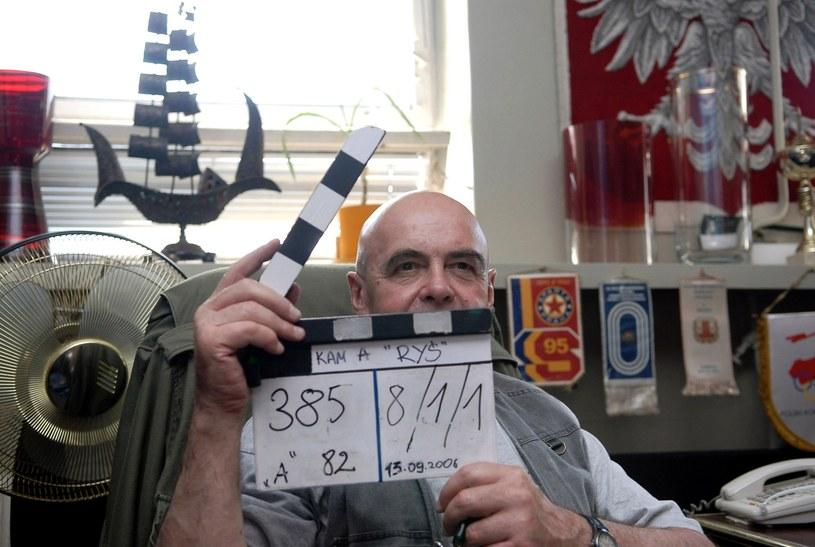 """Na planie """"Rysia"""" - swojej jedynej reżyserskiej przygody /Digital /East News"""