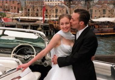 Na początek biuro matrymonialne, a potem... romantyczny ślub? /AFP