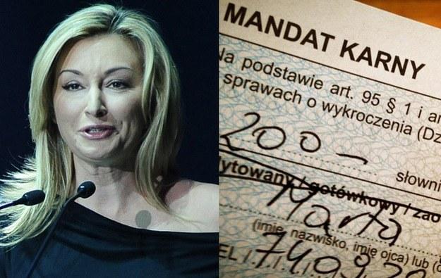 Na  policjanta służbistę trafiła  ostatnio dziennikarka Martyna (a właściwie Marta)  Wojciechowska /Fot. AKPA, Facebook   /
