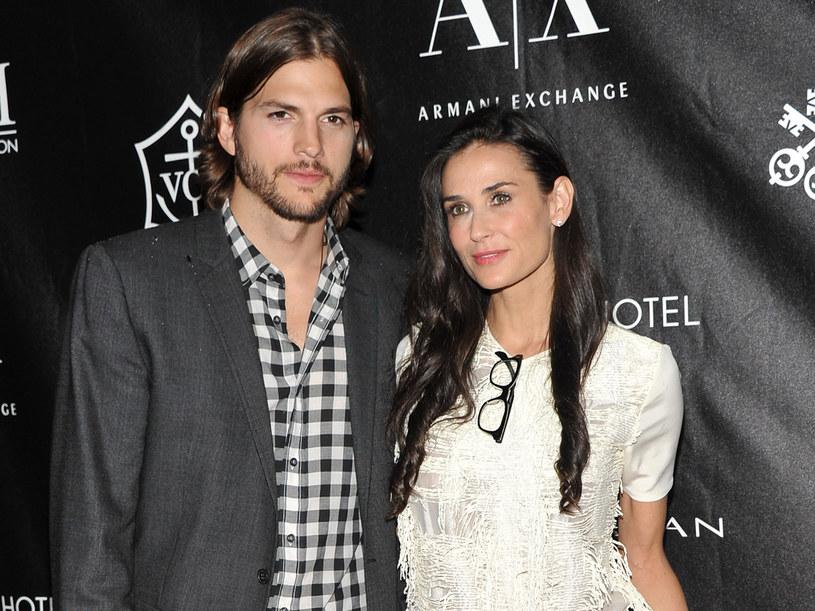 Na przekór całej armii sceptyków Demi i Ashton tworzą wzorową wręcz parę  /Getty Images/Flash Press Media