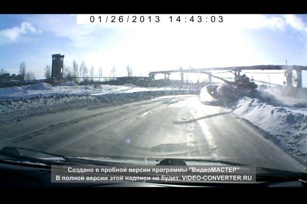 Na rosyjskich drogach spotkać można wszystko... /