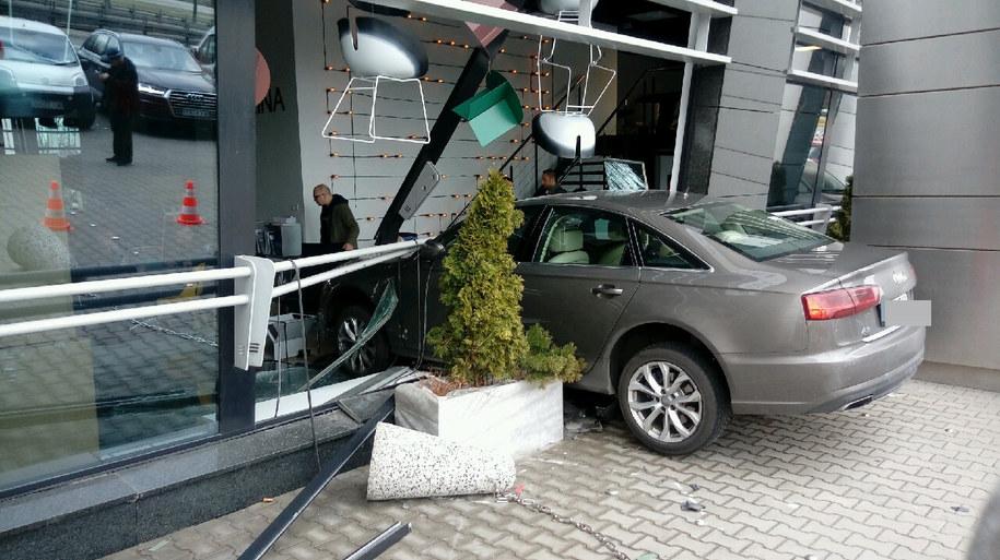Na szczęście w wyniku wypadku nikomu nic się nie stało /Gorąca Linia RMF FM