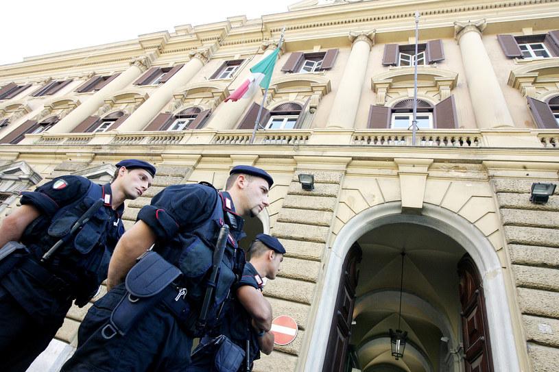 Na trop skandalu wpadła włoska Gwardia Finansowa /AFP