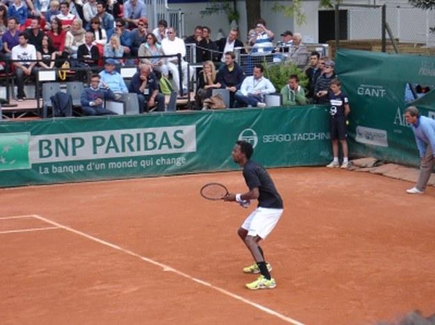 Na turnieju tenisowym